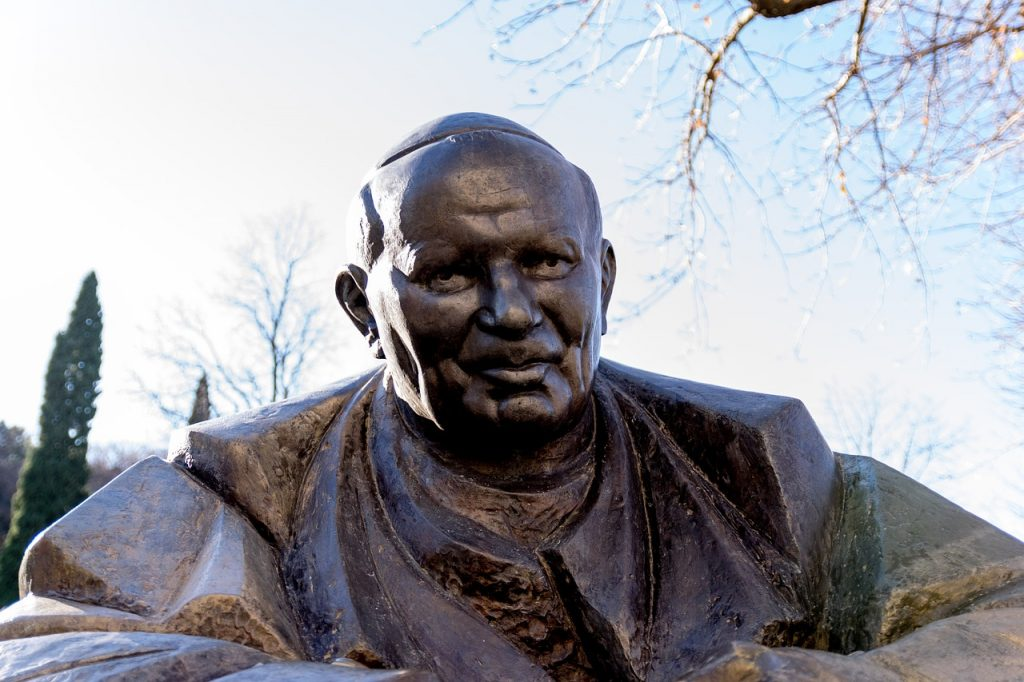 John Paul II statue in Croatia